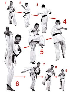Tactics that can help you Try to improve Your expertise of martial arts tips Kyokushin Karate, Shotokan Karate, Karate Kata, Best Martial Arts, Martial Arts Styles, Martial Arts Workout, Martial Arts Training, Taekwondo Training, Taekwondo Techniques