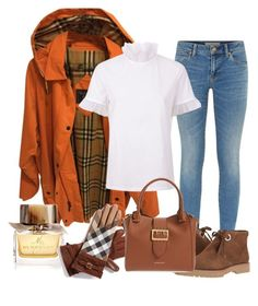 """""""All Burberry"""" by sillycatgrl ❤ liked on Polyvore featuring Burberry"""