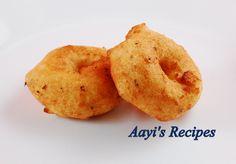 Urad Vada (Uddina Vada/Thootu Vada/Medu Vada) - Aayis Recipes