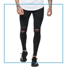 Good For Nothing Destroyed Jeans Black