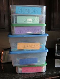 Mix and Match Family: Busy Boxes