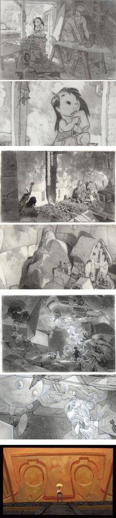 Paul Felix - Lilo & Stitch Sketches