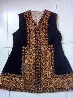 Ukrainian embroidered vest, vintage 1920-1940, XS-S, handmade, Ukraine #Handmade