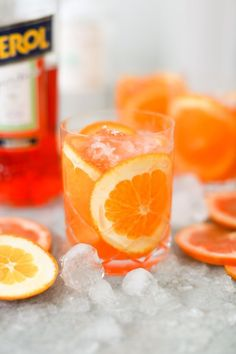 Fresh, herbal and delightfully strong, this aperol grapefruit margarita is perfect for summer sipping, but it's truly a seasonless wonder. Refreshing Summer Cocktails, Cocktail Drinks, Margarita Cocktail, Cocktail Recipes Aperol, Aperol Drinks, Alcoholic Drinks, Yummy Drinks, Healthy Drinks, Healthy Recipes