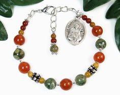 St. Francis of Assisi Chaplet Bracelet, St. Francis Chaplet, Spiritual Religious Jewelry, Catholic Prayer Beads, Meditation Aid, Niner