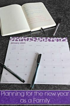 Tips for planning for the new year as a family! blog.rightstart.com
