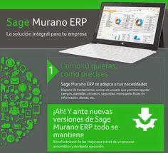 Sage Murano: 10 Ventajas Erp Sage Murano. Infografia Sage.