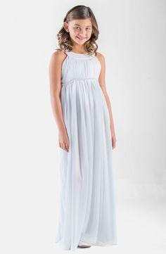 Us Angels Sleeveless Chiffon Dress (Big Girls) available at #Nordstrom