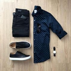 Let's get some thoughts on this shirt Floss or Toss? . . @mrjunho3 . . #flygrids #flatlay #menswear #spring2018 #springsummer