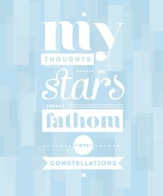 The Fault in our Stars by Lucy Keeble, via Behance