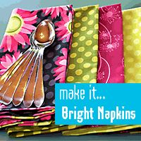 I have no clue why it has a picture of napkins because this is a link to a Back to School: Zippered Pencil & School Supplies Case Sewing Hacks, Sewing Crafts, Sewing Projects, Craft Projects, Craft Ideas, Diy Sac, Thanksgiving Traditions, Fabric Basket, Pom Pom Garland