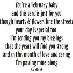 February Birthday Greeting
