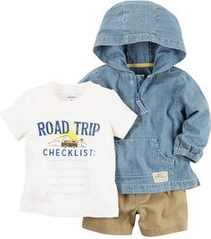 a7169493d42 Carter s 3-pc. Pant Set Baby Boys - JCPenney