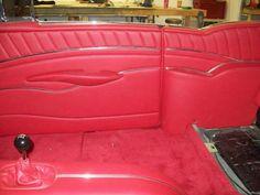 Custom Car Interior, Car Interior Design, Interior Ideas, Automotive Upholstery, Car Upholstery, Car Pics, Car Pictures, Custom Consoles, Garage Furniture