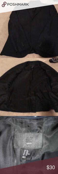 H&M slim fit blazer Navy blue blazer H&M Suits & Blazers Sport Coats & Blazers