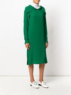 Marni платье с длинными рукавами