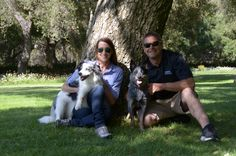 Had the best time filming for Animal Planet with renowned disc dog and agility dog trainer John Casey.