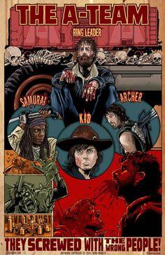 """Walking Dead - Season 4 """"Team"""" Posters (1/6)"""