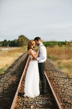 railroad wedding photos