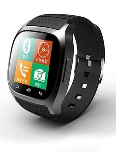RWATCH M26S Wearables Smart Watch,Activity Tracker/Sleep Tracker/Alarm Clock for Android/iOS/Windows Mobile , black-windows mobile   Brand:RWATCH,Model:M26S,Type:Smart Watch,Operating System:Other,Languages:Portuguese, English, Thai, Chinese, Arabic, Vietnamese, In