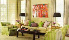 #LeovanDesign #Livingroom #patterns #textiles #colors #interiordesign #mixingpatterns