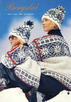 Bergsdal 6802 Cross Stitch Patterns, Crochet Patterns, Knitting Patterns, Knit Or Crochet, Crochet Hats, Norwegian Knitting, Intarsia Knitting, Ski Sweater, Fair Isle Knitting