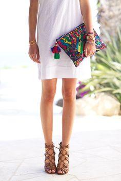 Summer attire.