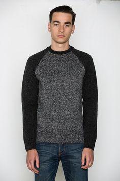 T by Alexander Wang Men's - Knit Sleeved Sweatshirt