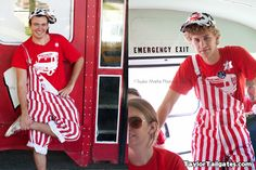 Wisconsin Gameday Overalls