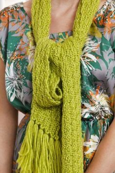 Knit with straight knitting needles, this sensational Biased Opinion Scarf is just what you need for winter.  Knit it up in bright colors and chase away the chilly blues.  This scarf will look fabulous paired with your winter coat - just follow the s