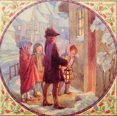 "Margaret Tarrant Christmas Card - ""Carol Singers"" | Flickr"