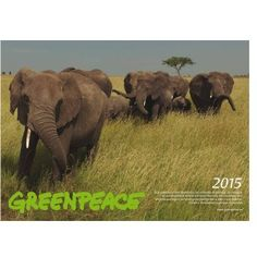 Calendario 2015. Greenpeace