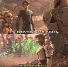 Hahahaha #StarWars #TheCloneWars