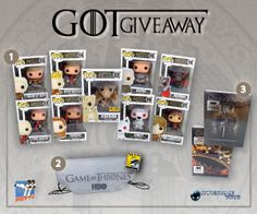 @NerdFu @Ylenia Manganelli LOOK AT THIS AWESOME GIVEAWAY IT WOULD DEFINITELY HELP MY GOT POP COLLECTION!!