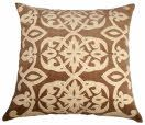 Decorative pillows add color, texture and pattern to the home decor. The shapes, colors, patterns, fabrics and sizes are all pressed into service at Rizzy to provide infinite possibilities and combinations for every occasion and style. Filler made of 100% polyester.