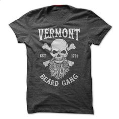 VERMONT BEARD GANG - #hooded sweatshirts #blank t shirt. ORDER HERE => https://www.sunfrog.com/LifeStyle/VERMONT-BEARD-GANG.html?60505