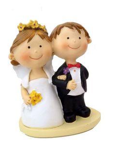 Lustiges Brautpaar Sonne im Herzen  Tortenfigur oder Deko  Hochz
