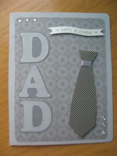 Maybe a card for my dads birthday tomorrow?