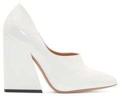 Love these shoes by ACNE STUDIOS White Patent Ilona Pumps - $770