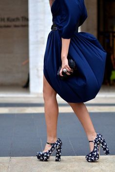 .Love the dress, not so sure about the shoes...