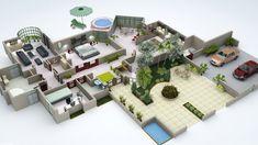 185 Best 3d House Plans Floor Plans Images Sims House 3d House
