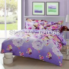 Aliexpress.com : Buy Comforter set 100%cotton Queen size duvet cover set/4pcs bedding set /bedclothes/bedspread/duvet covers bed sheet Pillowcase from Reliable bed sheet hotel suppliers on Yous Home Textile $78.00