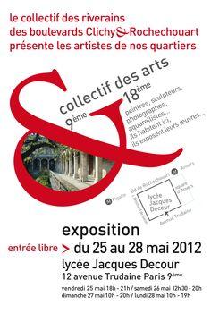 exposition Collectif des arts - mai 2012