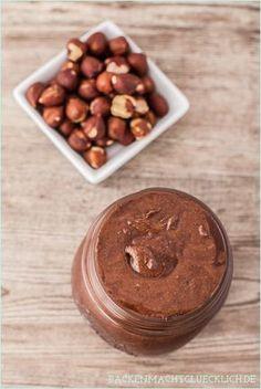 Backen macht gl�cklich | Nutella selbermachen: gesund, vegan und ohne Zucker | http://www.backenmachtgluecklich.de