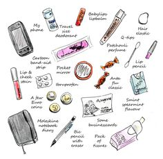 The things I carry around by Mangomini