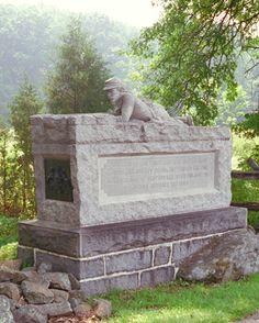 96th Pennsylvania Infantry monument at Getttysburg
