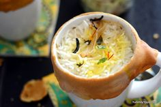 Biryani in a Mug | was a natural progression of the matka (pot) biryani. With earthenware being scanty and what with all the pot pies and mug cake ideas floating around the World Wide Web, it was about time I acted on this Biryani in a mug idea. @yummilyyours