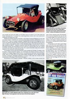 Berry Mini-T Buggy History 3/3