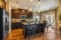 Lovely kitchen at The Shores - New homes available in Firestone, CO   Henry Walker