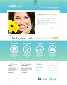 Template Samples Dentistry Semi-Custom Sites, Dental Website ...